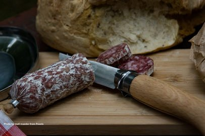 How long does salami last?