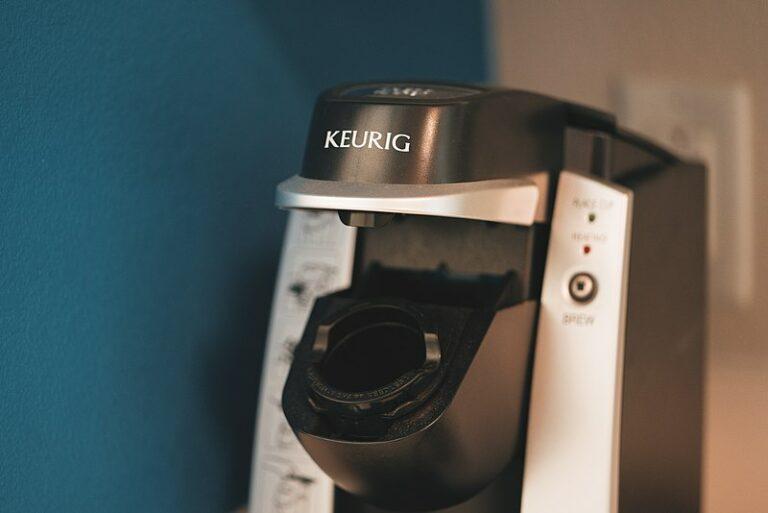 A Keurig coffee machine