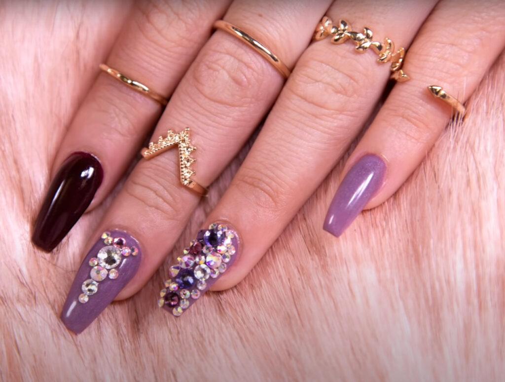 Acrylic type nail polish