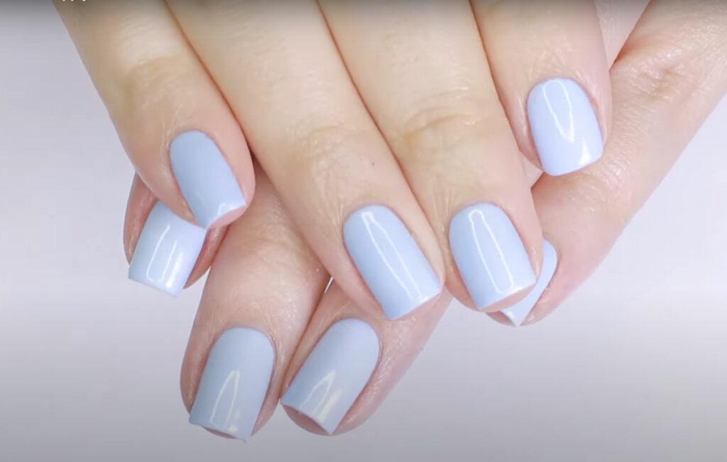 Gel type nail polish