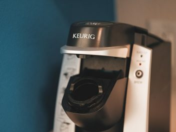 A Keurig coffee machine